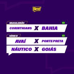 Betmotion Futebol - programação do futebol na semana