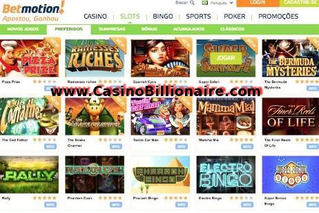Betmotion - casino, bingo, esportes e jogos de apostas